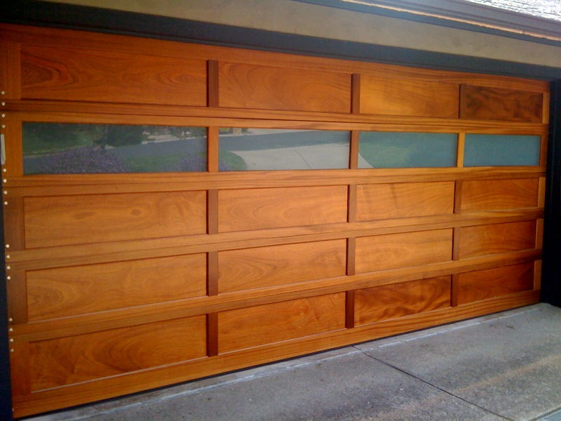 . Wood Garage Door Repair Lockport  NY
