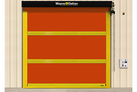 Wayne Dalton Exterior High Speed Fabric Door